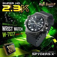 腕時計型カメラ「超高画質2.3K/60fps滑らか録画/動体検知/ボイスレコーダー/内蔵32GB」