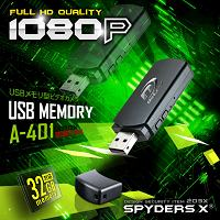 USBメモリ型カメラ「シリーズ初!側面レンズ/フルHD録画/動体検知/32GB対応」
