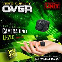 超小型カメラ「一辺約2cm!軽量7g/バッテリー搭載&外部電源OK/動体検知/リピート録画」