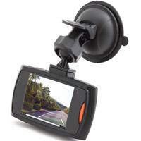 ドライブレコーダー「フロント&リアカメラセット/2.4型液晶/エンジン連動/赤外線暗視」